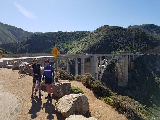 """Morro Bay, CA: """"Car Commercial"""" Bridge on way to Big Sur"""