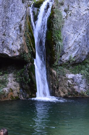 Litochoro, Grèce : the big waterfall