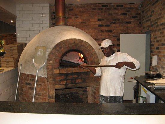 Thabazimbi, Sudáfrica: A friendly pizza