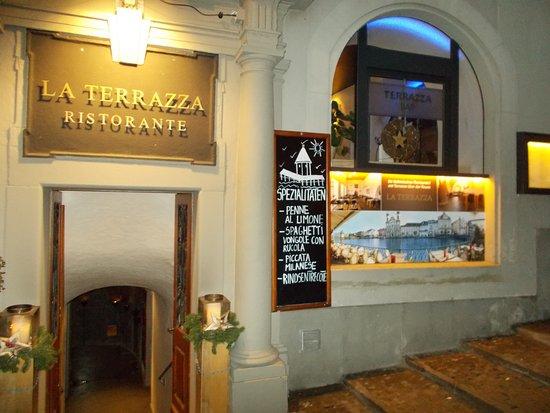 Rear Entrance Picture Of La Terrazza Lucerne Tripadvisor