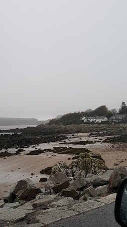 Kippford, UK: You can walk from the hotel along the beach to Rockpool and back a lovely walk of about three mi