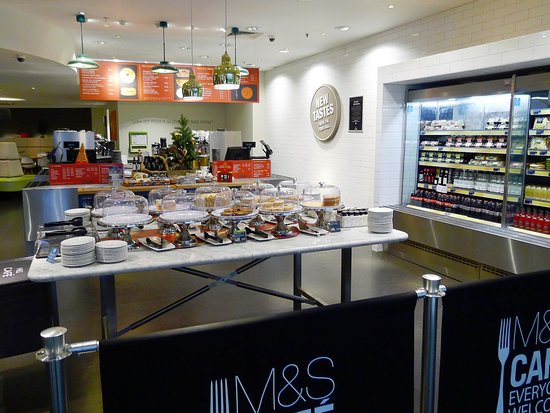 marks spencer the restaurant at london colney m s cafe upstairs formally the resturant