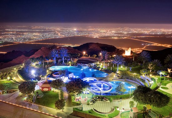 Mercure Grand Jebel Hafeet Al Ain: View from our Room 519