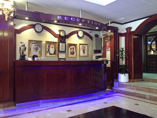 Panorama Hotel Bur Dubai: Front office