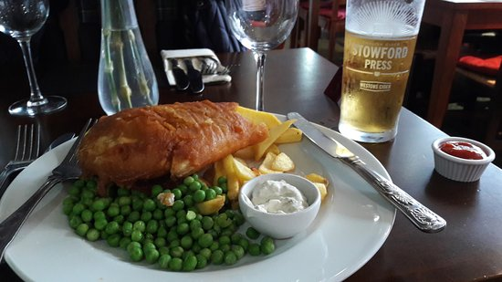 Balcombe, UK: Fish and chips