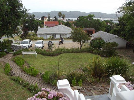 Knysna Backpackers: View from the verandah