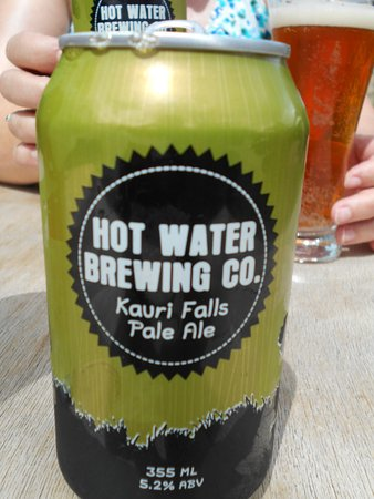 Seabreeze Holiday Park : A beer from Hot Water Brewing Co. (next door)