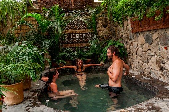 Villa Sumaya: Solar heated hot-tub