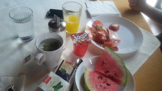 Hotel Pension Villa Gloria: Colazione