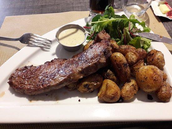 Damgan, Francja: Plat menu à 14 euros 50