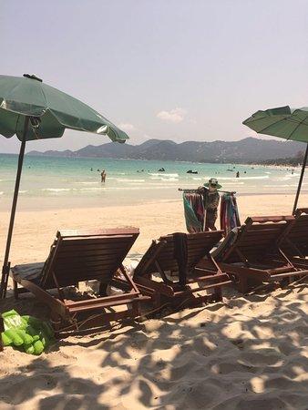 Baan Chaweng Beach Resort & Spa: Super Strand