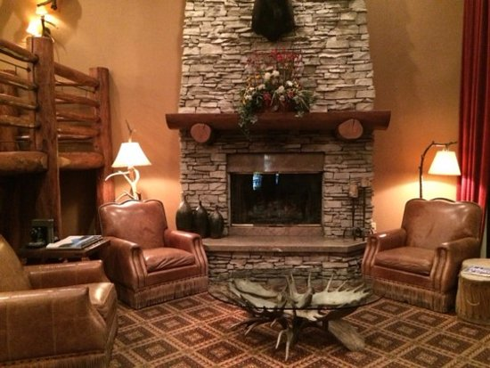 The Lodge at Jackson Hole: Hotel Lobby