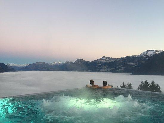 Ennetbuergen, Szwajcaria: Hotel Villa Honegg