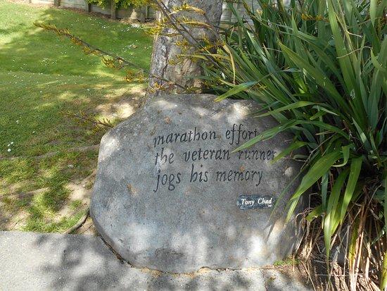 Haiku Pathway: Tony Chad's Rock