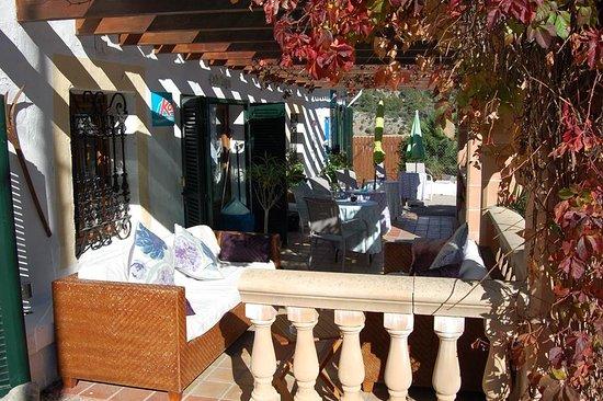 Bunyola, Spain: The Terrace