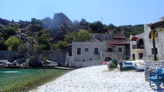 Gythion Hotel : Alipa - short trip by our boat from Gythio to this village