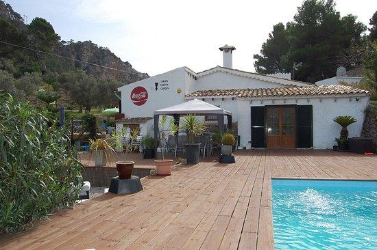 Bunyola, Spain: Pool deck
