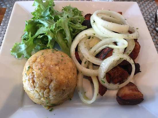 Ridgeland, MS: Mofongo con carne frita