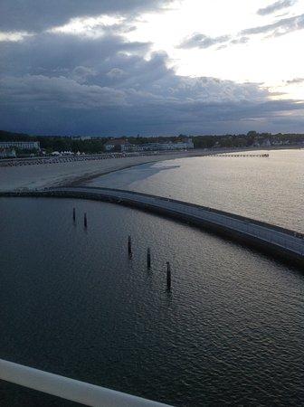 Travemuende, เยอรมนี: Морское побережье Травемюнде