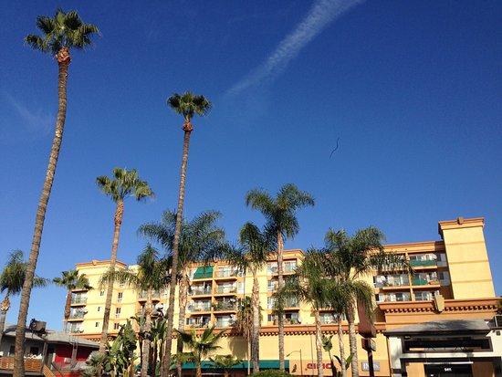 The Dixie Hollywood: estacionamento