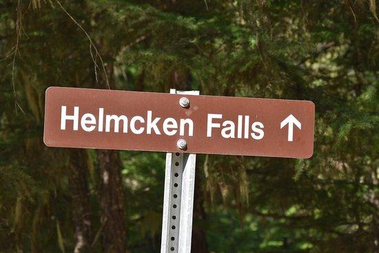 Helmcken Falls: Schild