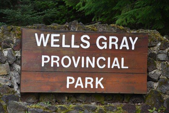 Wells Gray Provincial Park: Schild