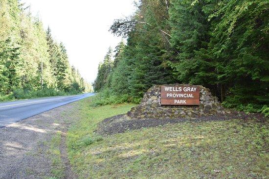 Wells Gray Provincial Park: Einfahrt
