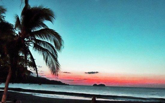 Sunset at Aqua Sports, Playa Hermosa