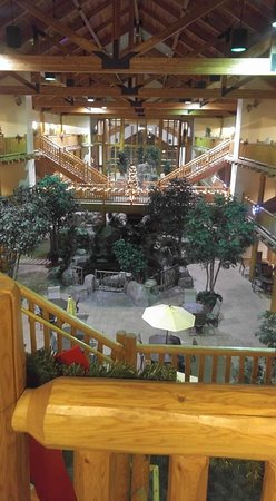 Evansville, WY: Hotel Lodge area