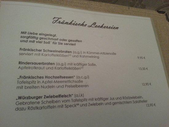 Veitshochheim, Alemania: Auszug aus der Karte
