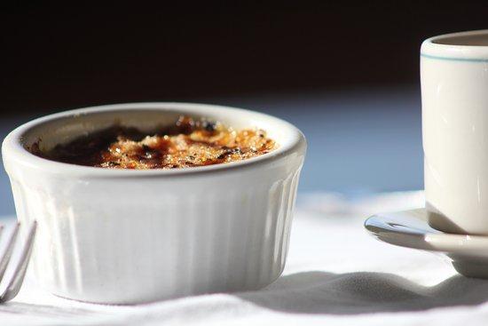 Deerwood, MN: Our world-famous Crème Brûlée. Made fresh daily.