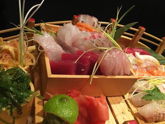 Uniontown, OH: Holiday sushi