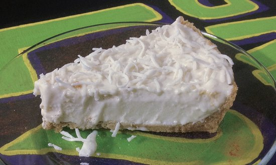 La Cruz de Huanacaxtle, Mexiko: New York style Cheese Cake sprinkled with coconut and cinnamon