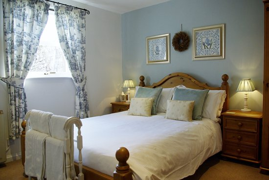 Chatton, UK: Homildon House bedroom