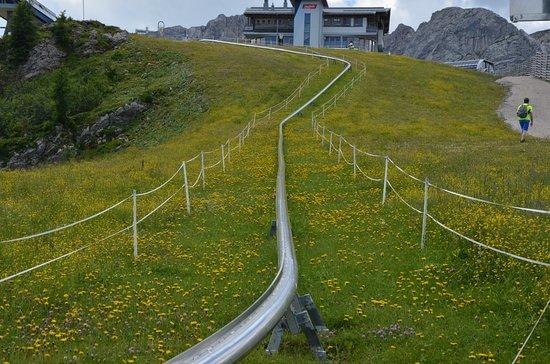 Gortschach, Österreich: die ersten 100m