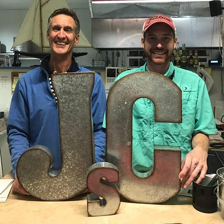 Aiken, SC: John and Chris Hyder welcome you to JC's Seafood.