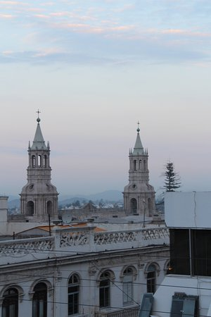Tierra Viva Arequipa Plaza Hotel: View from rooftop