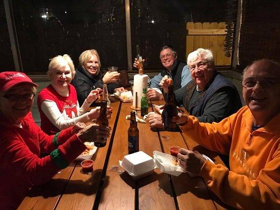 Aiken, SC: Friends enjoying High Tide Happy Hour!