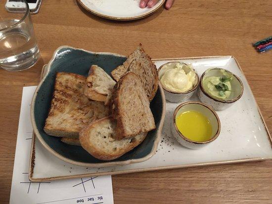 Brio Coastal Bar And Kitchen S Bread Plate Picture Of