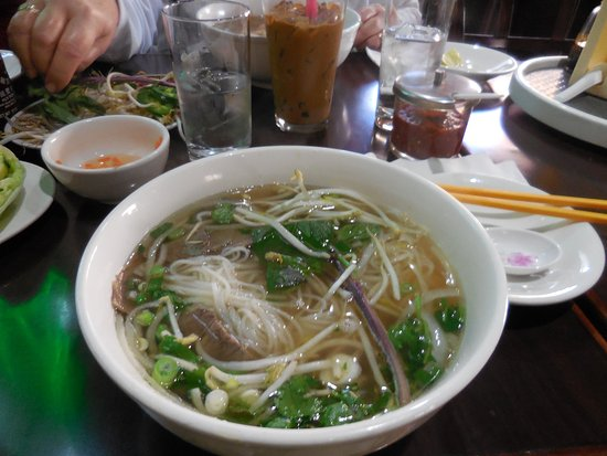 Pho With Rice Noodles Picture Of Pho Cali Vietnamese