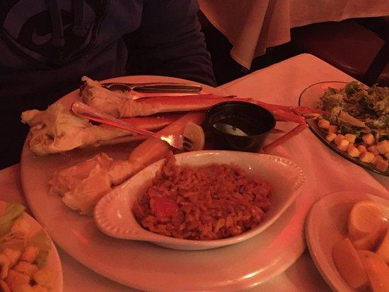 Rhythm Kitchen Seafood & Steaks, Las Vegas - Menu, Prices ...
