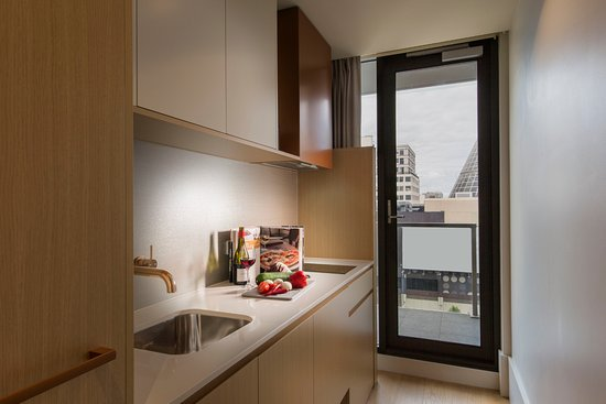 Studio Apartment kitchenette - Picture of Brady Hotels ...