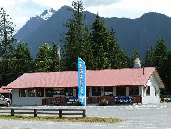 Darrington, Etat de Washington : Hawks Nest Restaurant & Jumbo Mountain