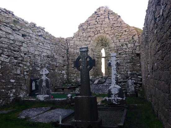The Burren, Ireland: Carran Medieval Church