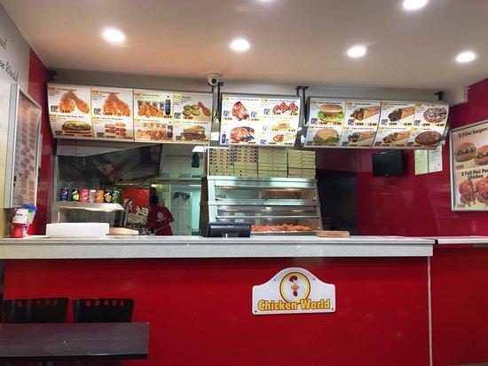Chicken World Wembley 145 Wembley Park Dr Restaurant Reviews