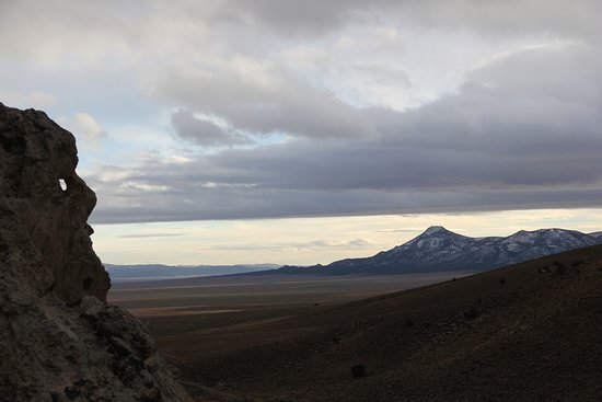 "Wild Horse Safaris: The old man looking toward ""Number 10"" Mountain"