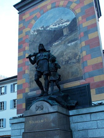 Altdorf, Switzerland: IN THE SQUARE