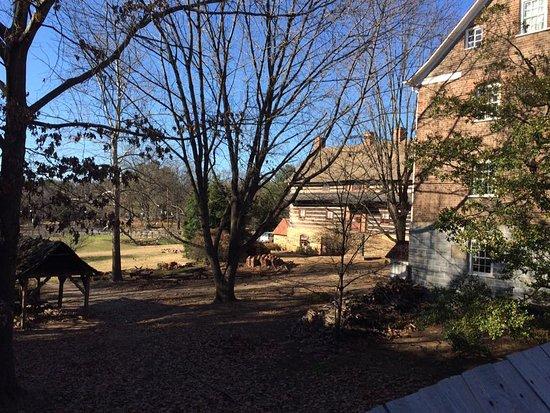 Winston Salem, นอร์ทแคโรไลนา: Backyard of Single Brother's house and barn.