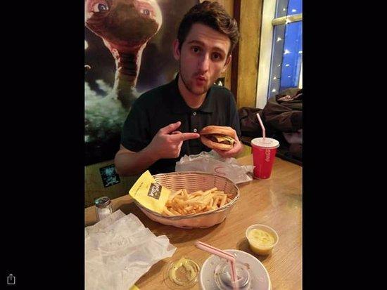Hamborgarabulla Tomasar: Steak burger! 😍