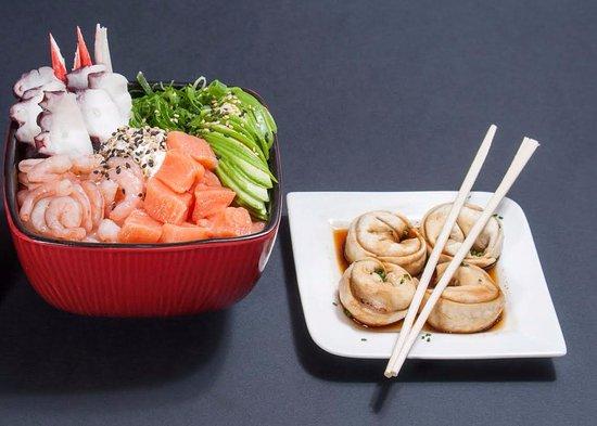 Maldito Sushi: gohan y gyozas